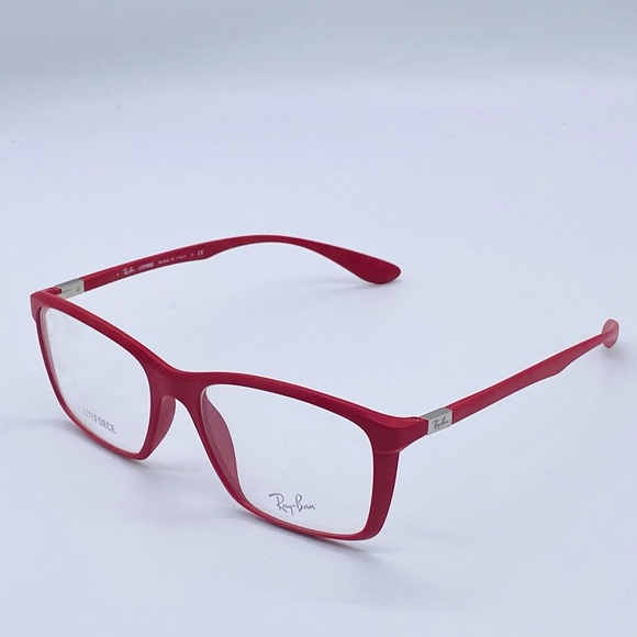 NEW Unisex Ray Ban Matte Red LiteForce RB7036